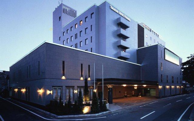 Отель TAKAKURA Фукуока вид на фасад