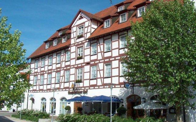 AKZENT Hotel Laupheimer Hof вид на фасад