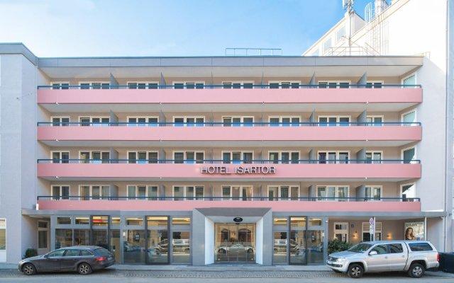 Отель Isartor Германия, Мюнхен - 1 отзыв об отеле, цены и фото номеров - забронировать отель Isartor онлайн вид на фасад