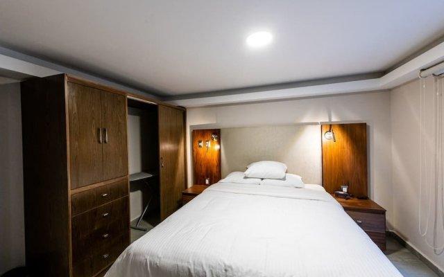 Отель Rochester 10 Мексика, Мехико - отзывы, цены и фото номеров - забронировать отель Rochester 10 онлайн комната для гостей