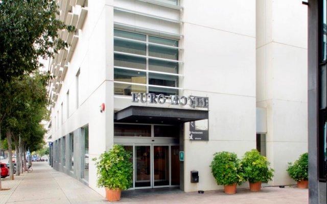 Отель Eurohotel Diagonal Port (ex Rafaelhoteles) вид на фасад