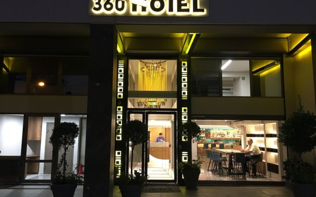 Отель 360 Degrees Pop Art Hotel Греция, Афины - отзывы, цены и фото номеров - забронировать отель 360 Degrees Pop Art Hotel онлайн вид на фасад