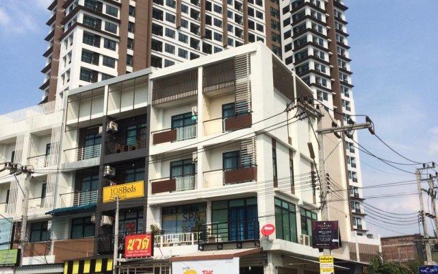 Отель 108Beds вид на фасад