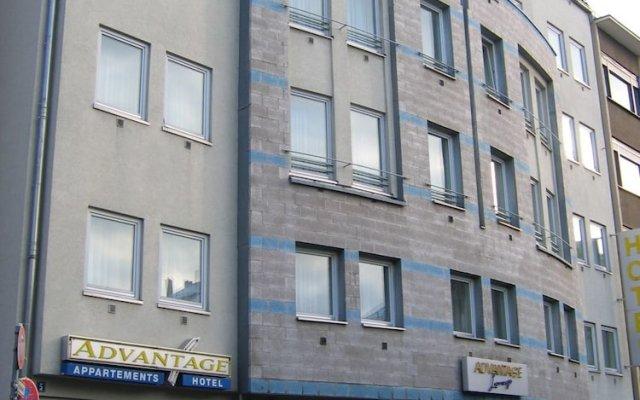 Advantage Hotel вид на фасад