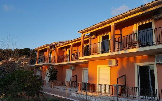 Отель Arillas Dream Studios вид на фасад