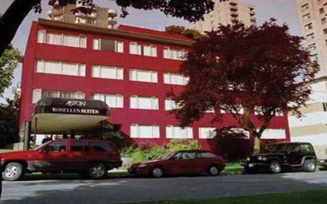 Отель Rosellen Suites At Stanley Park Канада, Ванкувер - отзывы, цены и фото номеров - забронировать отель Rosellen Suites At Stanley Park онлайн вид на фасад