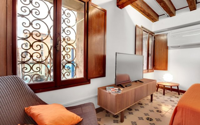 Апартаменты Venice Apartment overlooking Grand Canal комната для гостей