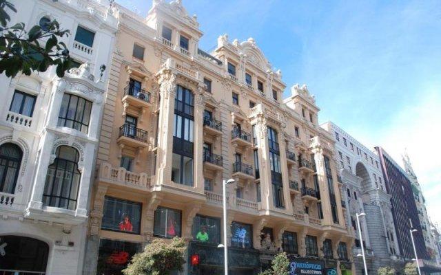 Отель Hostal Galaico вид на фасад