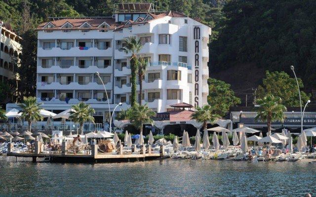 Mar-Bas Hotel - All Inclusive вид на фасад