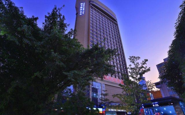 Orange Hotel Select Luohu Shenzhen Шэньчжэнь вид на фасад
