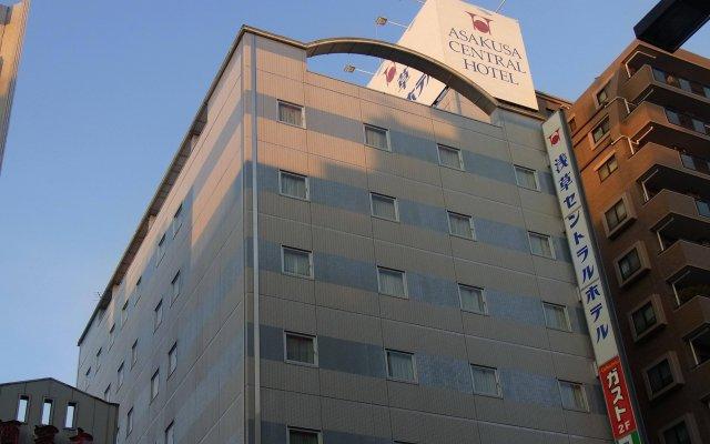 Asakusa Central Hotel вид на фасад
