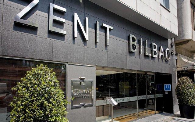Hotel Zenit Bilbao вид на фасад