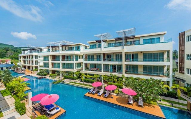 Отель The Pelican Residence & Suite Krabi Таиланд, Талингчан - отзывы, цены и фото номеров - забронировать отель The Pelican Residence & Suite Krabi онлайн вид на фасад