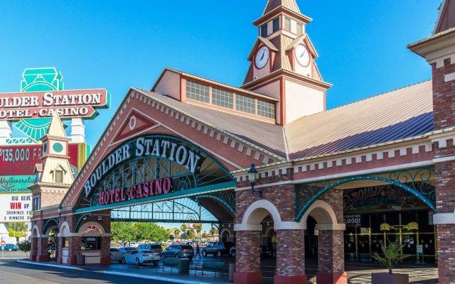 Отель Boulder Station Hotel and Casino США, Лас-Вегас - отзывы, цены и фото номеров - забронировать отель Boulder Station Hotel and Casino онлайн вид на фасад