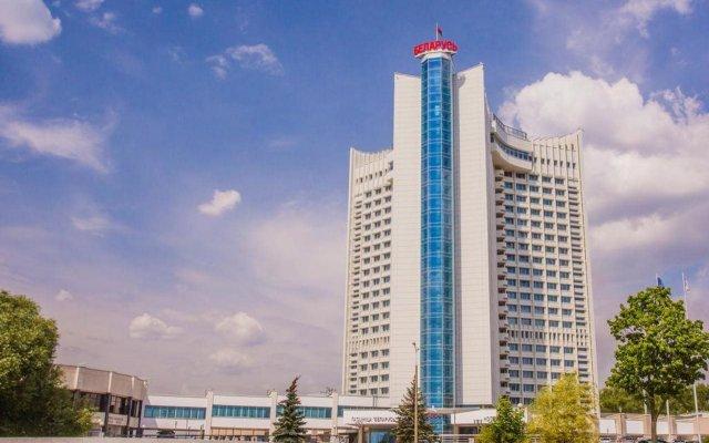 Гостиница Беларусь вид на фасад