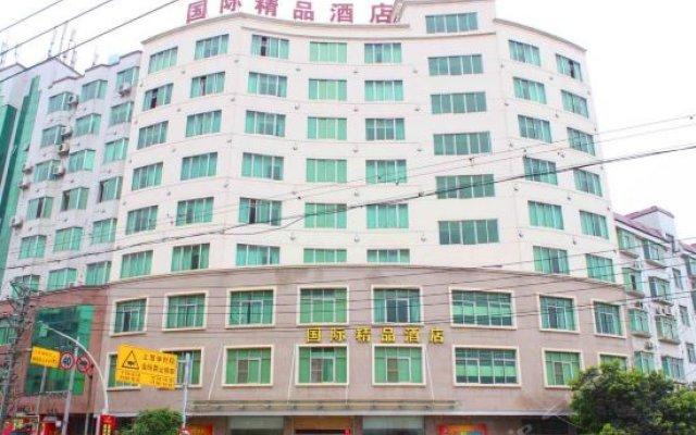 International Boutique Hotel вид на фасад