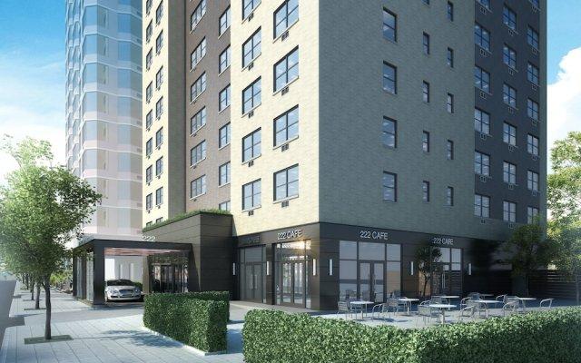 Отель Oakwood at The Nash вид на фасад