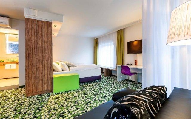 Отель Ibis Styles Wien City Вена комната для гостей
