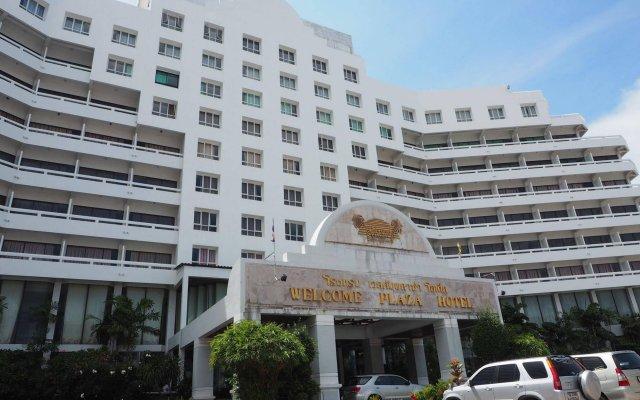 Отель Welcome Plaza Паттайя вид на фасад