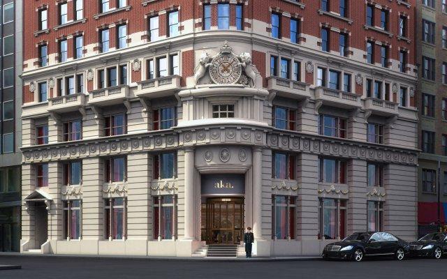 Отель AKA Wall Street США, Нью-Йорк - отзывы, цены и фото номеров - забронировать отель AKA Wall Street онлайн вид на фасад