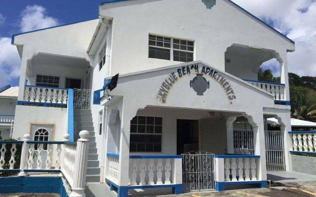 Отель Skyblue Beach Apartments Сент-Винсент и Гренадины, Остров Бекия - отзывы, цены и фото номеров - забронировать отель Skyblue Beach Apartments онлайн вид на фасад