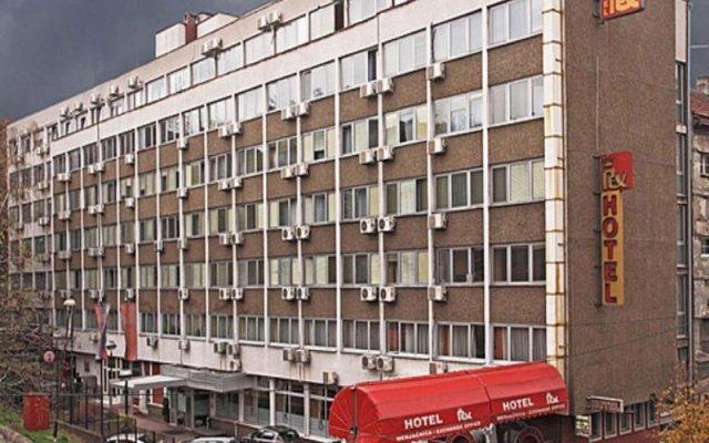 Отель Rex вид на фасад