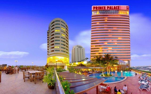 Prince Palace Hotel вид на фасад