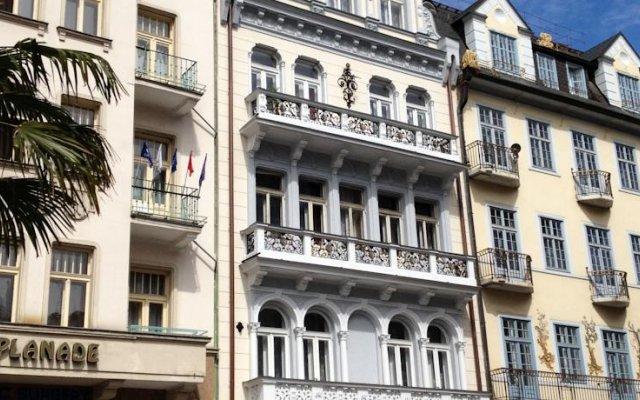 Отель Kucera Чехия, Карловы Вары - 6 отзывов об отеле, цены и фото номеров - забронировать отель Kucera онлайн вид на фасад