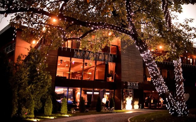 Бутик-отель MONA вид на фасад