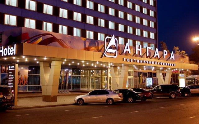 Ангара Отель вид на фасад