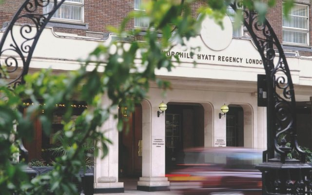 Отель Hyatt Regency London - The Churchill вид на фасад
