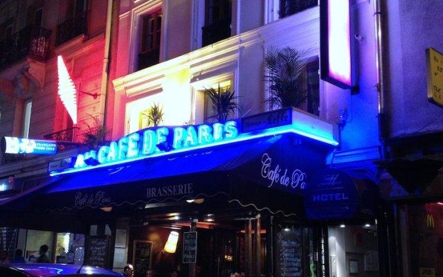 Отель Metropolitain Франция, Париж - отзывы, цены и фото номеров - забронировать отель Metropolitain онлайн вид на фасад