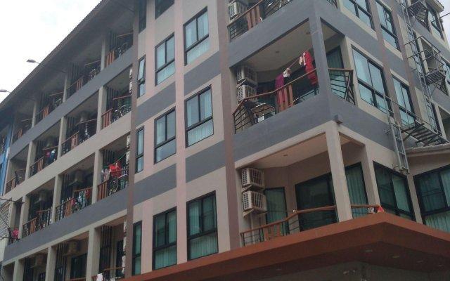 Отель Abani Jomtien Inn вид на фасад