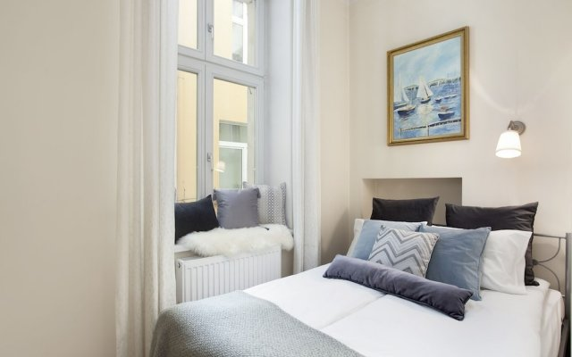 Апартаменты Elite Apartments Sopot Admiralski Сопот комната для гостей