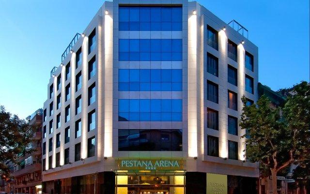 Отель Pestana Arena Barcelona вид на фасад