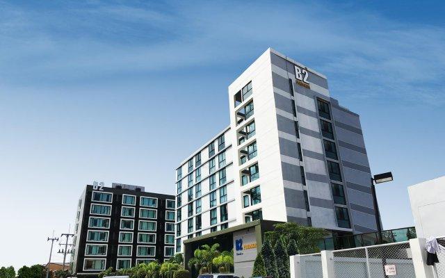 Отель B2 South Pattaya Premier Паттайя вид на фасад