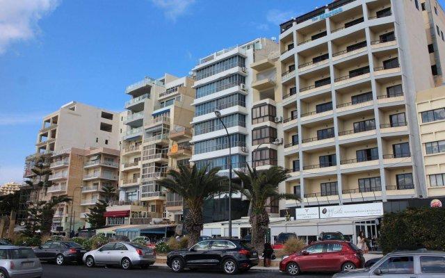 Sliema Marina Hotel вид на фасад