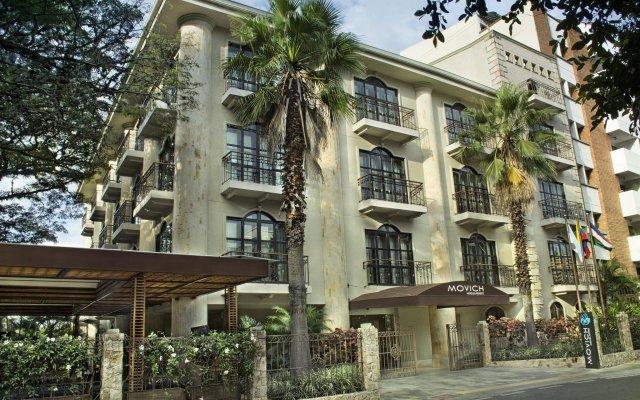 Отель Movich Casa del Alferez вид на фасад