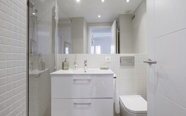 Отель Desing 1 Bd Apartm Prime Location. Cava Baja Испания, Мадрид - отзывы, цены и фото номеров - забронировать отель Desing 1 Bd Apartm Prime Location. Cava Baja онлайн ванная
