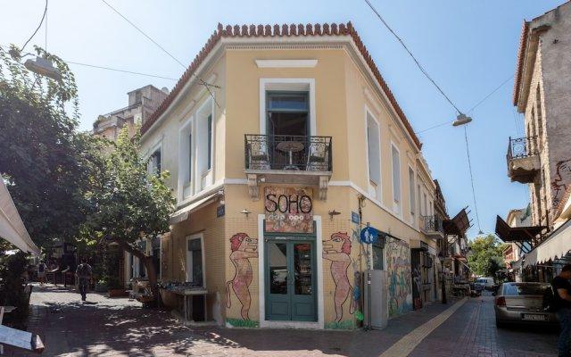 Отель Ancient Agora Apartments Греция, Афины - отзывы, цены и фото номеров - забронировать отель Ancient Agora Apartments онлайн вид на фасад