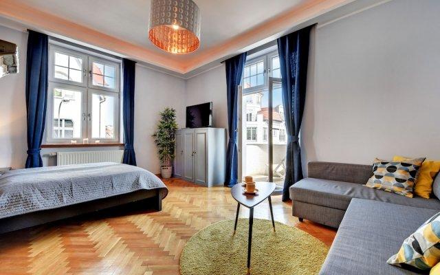 Апартаменты Grand Apartments - Brooklyn Сопот комната для гостей