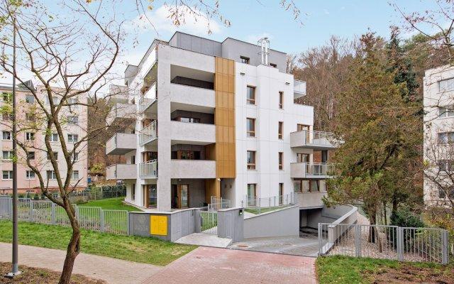 Апартаменты Lion Apartments -Bari Сопот вид на фасад
