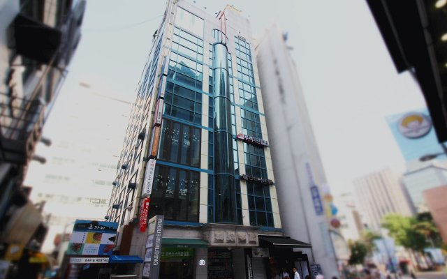 Philstay Myeongdong Central Hotel вид на фасад