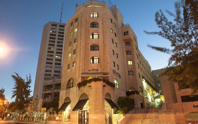 Отель Lev Yerushalayim Иерусалим вид на фасад