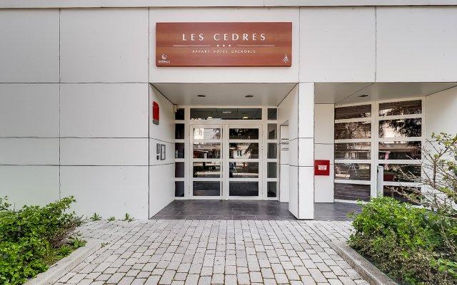 Отель Résidence Opéralia Grenoble Les Cèdres вид на фасад