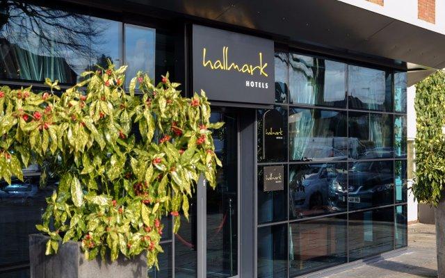 Hallmark Hotel Warrington вид на фасад