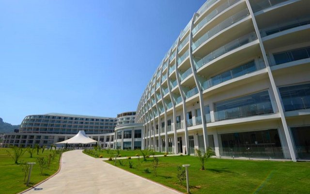 Green Nature Diamond Hotel вид на фасад