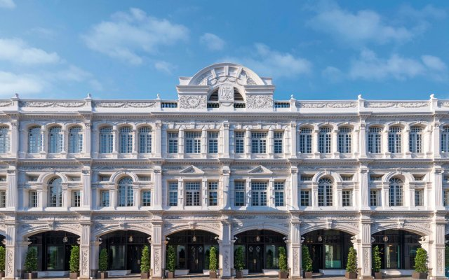 Отель The Capitol Kempinski Singapore Сингапур вид на фасад