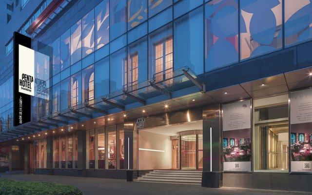 Отель Pentahotel Shanghai вид на фасад