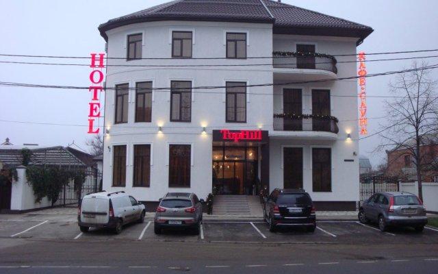 Гостиница Top Hill в Краснодаре 8 отзывов об отеле, цены и фото номеров - забронировать гостиницу Top Hill онлайн Краснодар вид на фасад